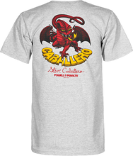 Powell Peralta - Cab Dragon Ii Ss S - Grey - Skateboard Tshirt