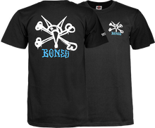 Powell Peralta - Rat Bones Yth Ss M - Black - Youth Tshirt