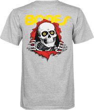 Powell Peralta - Ripper Yth Ss L - Grey - Youth Tshirt