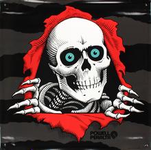 "Powell Peralta - Ripper Ii Banner 36""x36"""