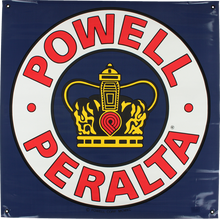 "Powell Peralta - Supreme Banner 36""x36"""