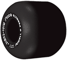 Powell Peralta - Mini Cube (95a) Black 64mm - (Set of Four) Skateboard Wheels