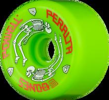 Powell Peralta - G - Bones Ii 97a 64mm Green - (Set of Four) Skateboard Wheels