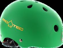 Pro Tec - (cpsc)classic Matte Rasta Grn - Xl Helmet - Skateboard Helmet