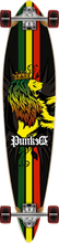 Punked - Rasta Pintail Lb Complete - 9.75x40 Ppp - Complete Skateboard