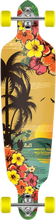 Punked - Tropical Day Drp - Thru Complete - 9x41 Ppp - Complete Skateboard