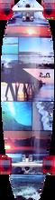 Punked - Seaside Kicktail Lb Complete - 10x40 Ppp - Complete Skateboard