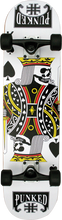 Punked - King Of Spades Complete - 7.75 Ppp - Complete Skateboard