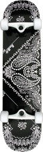 Punked - Bandana Complete - 7.75 Black Ppp - Complete Skateboard