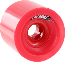 Rayne - Lust 70mm 80a Red - (Set of Four) Skateboard Wheels