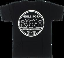 Real - Ar Roll For Rob Ss M - Black - Skateboard Tshirt