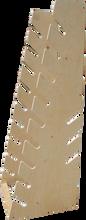Reg - Wood Longboard Rack - 12 Slots