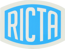 "Ricta - Logo 2"" Decal - Skateboard Decal"