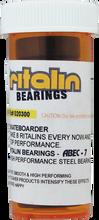 Ritalin - Abec - 7 Black Bearings Ppp - Skateboard Bearings