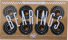 Royal - Silver Crown Bearings Single Set - Skateboard Bearings