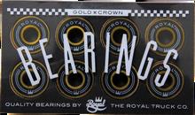 Royal - Gold Crown Bearings Single Set - Skateboard Bearings