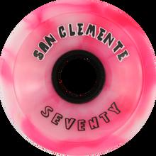 San Clemente - Summer Classic 70mm 78a Peppermint - (Set of Four) Skateboard Wheels