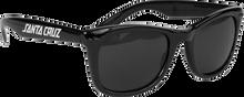 Santa Cruz - Strip Shades Wayfarer Sunglasses Black