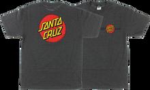 Santa Cruz - Classic Dot Ss M - Heather Grey - Skateboard Tshirt