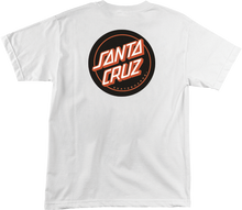 Santa Cruz - Classic Dot Ss L - White - Skateboard Tshirt