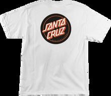 Santa Cruz - Classic Dot Ss Xl - White - Skateboard Tshirt