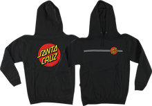 Santa Cruz - Classic Dot Hd / Swt M - Black - Skateboard Sweatshirt