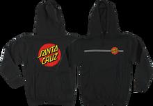 Santa Cruz - Classic Dot Hd / Swt L - Black - Skateboard Sweatshirt