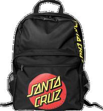Santa Cruz - Classic Dot Backpack Black - Skateboard Backpack
