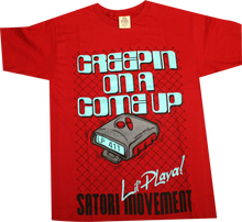Satori - Larry Perkins Creepin' S - Red - Skateboard Tshirt