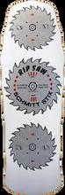 Schmitt Stix - Stix Ripsaw Deck - 10x30 White - Skateboard Deck
