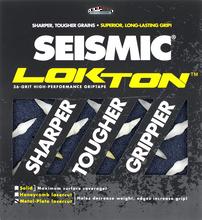 Seismic - Lokton Grip Squares Metalplate Blu 36grit - Skateboard Grip Tape