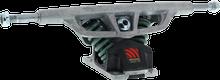 Seismic - G5 180mm / 30?????? Med Spring Solid Axle - Raw - (Pair) Skateboard Trucks