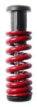 Seismic - G5 Springs Light - Red 2pcs - (Pair) Skateboard Trucks