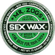Sex Wax - Wax Og. Single Bar - Cold Assorted - Surfboard Wax