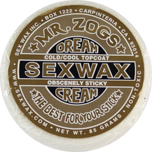 Sex Wax - Wax Dream Cream Gold Single Bar - Cool / Cold - Surfboard Wax