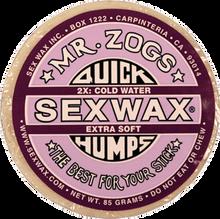 Sex Wax - Humps 2x Purple - Extra Soft - Single Bar - Surfboard Wax