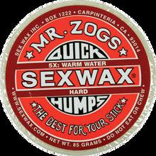 Sex Wax - Humps 5x Red - Hard - Single Bar - Surfboard Wax