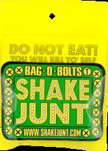 """Shake Junt - Bag - O - Bolts All Grn & Yel 1""""(allen) 1set"""