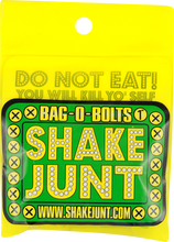 "Shake Junt - Bag - O - Bolts All Grn & Yel 7 / 8"" Phillips 1set"