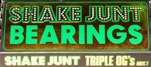 Shake Junt - Triple Og's A - 7 Bearings Single Set - Skateboard Bearings