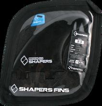 Shapers Australia - Australia S - 5 Fcs Black 3fin Set - Surfboard Fins