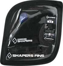Shapers Australia - Australia S - 5 Future Black 3fin Set - Surfboard Fins
