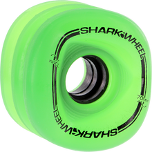 Shark Wheels - Sidewinder 70mm 78a Green Transparent - (Set of Four) Skateboard Wheels