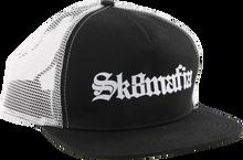 Skate Mafia - Old E Mesh Trucker Hat Adj - Blk / Wht