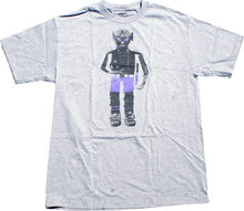 Skate Mental - Mental Soccer Doll Ss S - Heather Grey - Skateboard Tshirt