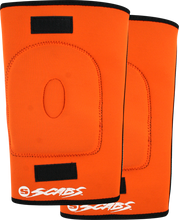 Smith - Horseshoe Knee Gasket S - Orange - Skateboard Pads