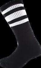 Socco - Crew Blk / Wht Socks (9 - 12) 1pair