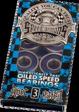 Speed Demons - A - 3 Blue Bearing Single Set Ppp - Skateboard Bearings
