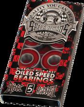 Speed Demons - A - 5 Red Bearing Single Set Ppp - Skateboard Bearings