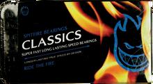 Spitfire - Classic Bearings Blue Shield Single Set - Skateboard Bearings